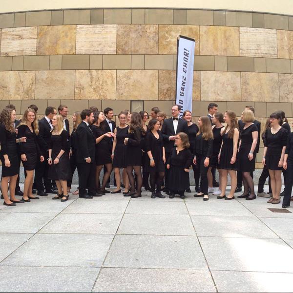 JuVokal beim Chorfest in Stuttgart, Foto: Esther Landsiedel